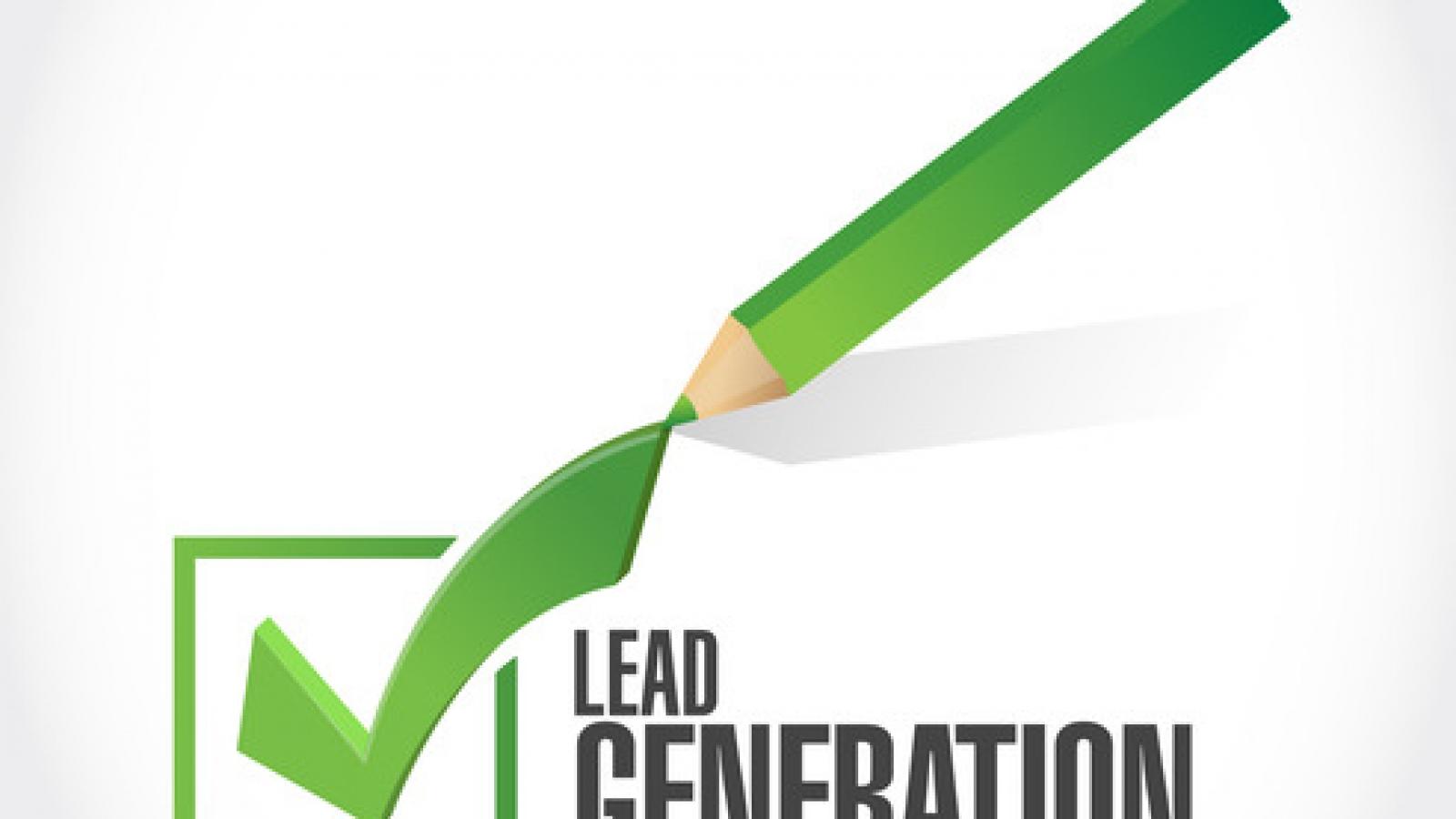 lead generation check list illustration